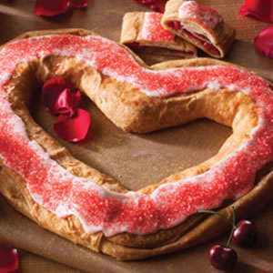 Valentine Cherry Kringle (174V)