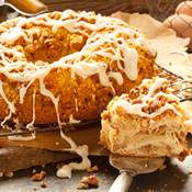 Pecan Cheese Coffee Cake (314)