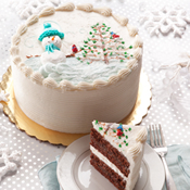 Winter Wonderland Cake(433)