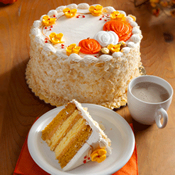 Pumpkin Spiced Latte Layer Cake(434F)