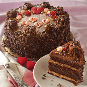 Chocolate Caramel Seduction Cake (468V)