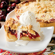 Danish Cherry Bread Pudding (469C)