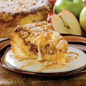 Danish Cinnamon Apple Bread Pudding (469)