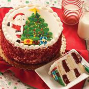 Santa's Surprise Cake(470)