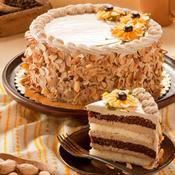 Mocha Almond Layer Cake(473)