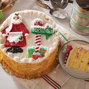 Mrs. Claus's Cheesecake Cake(481)