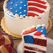 Flag Layer Cake (490)