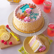 Raspberry Lemonade Mousse Cake(491)