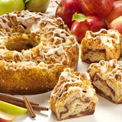 Apple Cinnamon Coffee Cake(S097)
