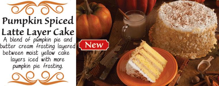 Pumpkin Spiced Latte Layer Cake