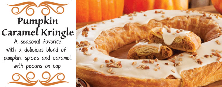 Pumpkin Caramel Kringle