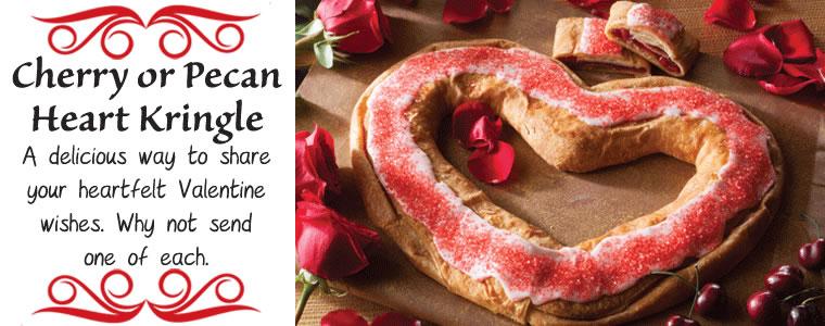 Valentine Cherry Kringle