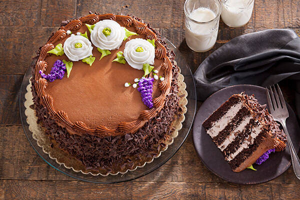 Try our Fudge Layer Cake for your Next Birthday Party