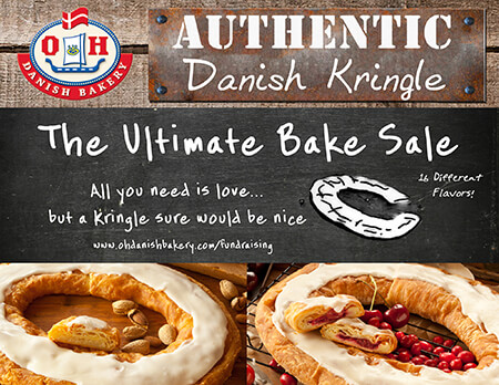 The ultimate bake sale fundraiser with O&H Danish Bakery