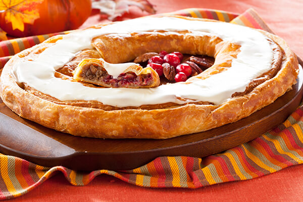 Thanksgiving Stuffed Kringle