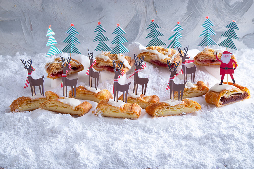 Santa's Kringle Sleigh cute Christmas dessert idea