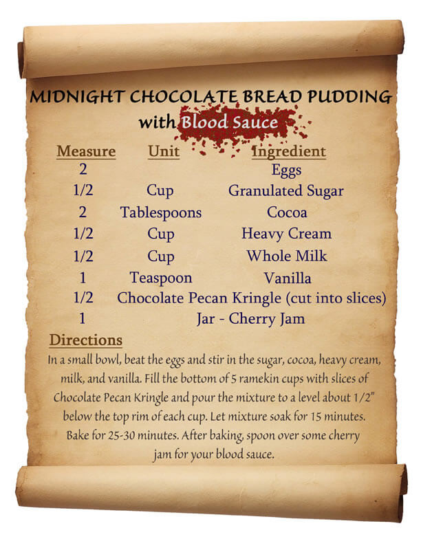 Midnight Bread Pudding Recipe