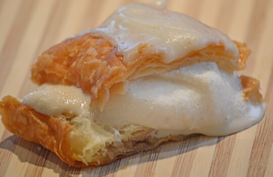 Key Lime Kringle Ice Cream Sandwich