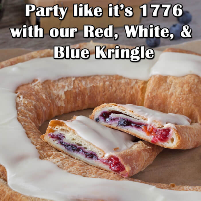 Seasonal Kringle Flavors