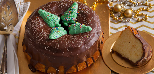Christmas in Copenhagen Crown Cake - (C315)