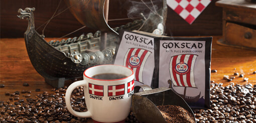 2 Gokstad Premium Coffee Packets - (S029)
