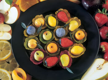 12 Pieces of Marzipan Candy