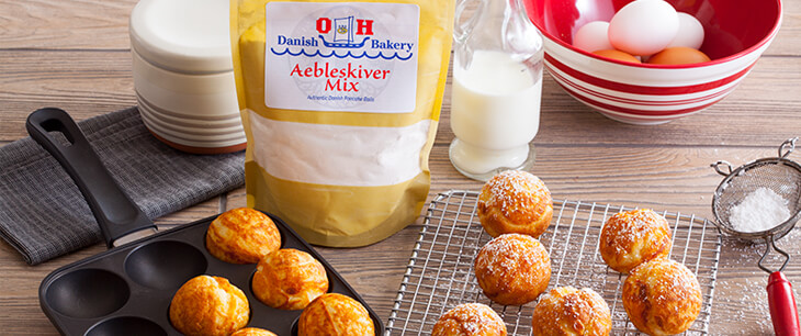 Aebleskiver Mix - Traditional Danish Pancake Balls
