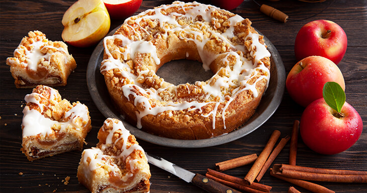 Item #: S097 - Apple Cinnamon Coffee Cake