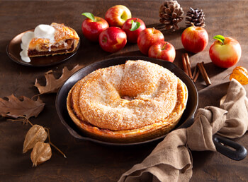 Apple Cinnamon Kringle Pie