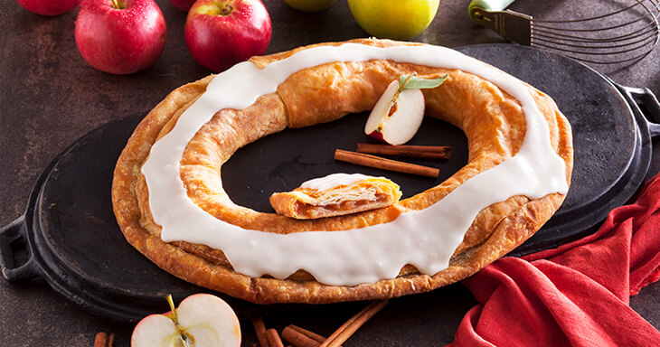 Item #: 1210 - 16 Apple Kringle