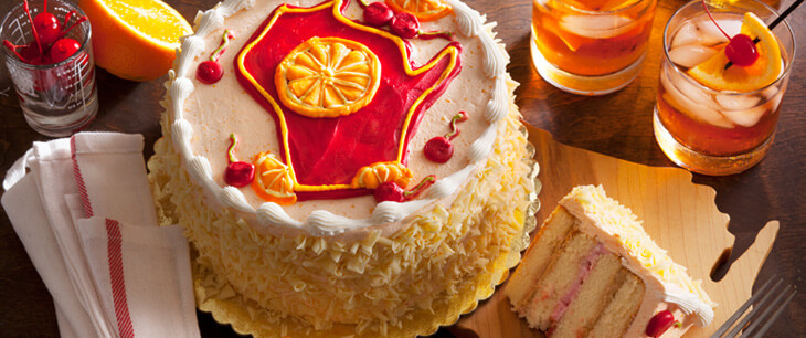 Brandy Old Fashioned Layer Cake