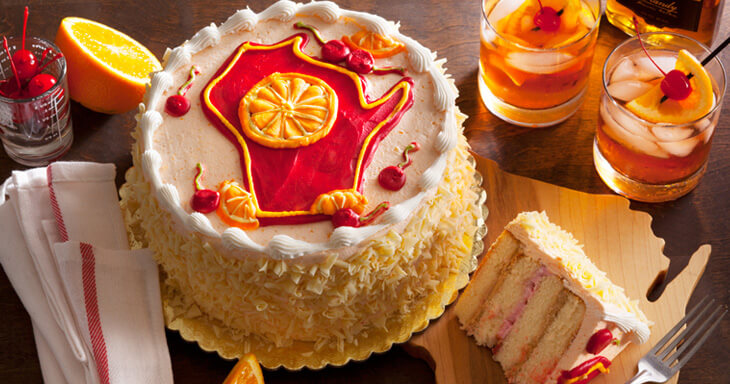 Item #: 496 - Brandy Old Fashioned Layer Cake