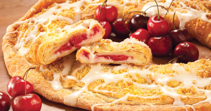 Item #: 180 - Cherry Cheese Kringle