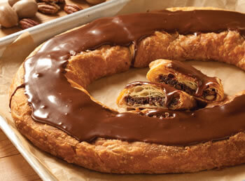 Chocolate Pecan Kringle