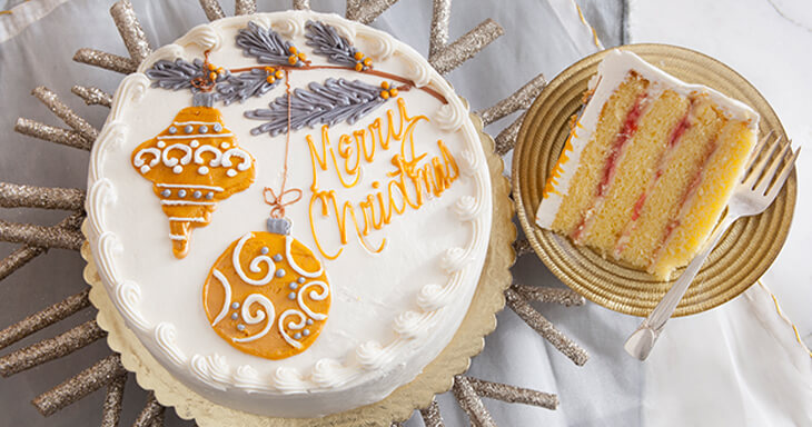 Item #: 472D - Christmas Danish Layer Cake