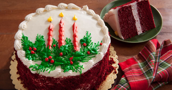 Item #: 456C - Christmas Eve Cake