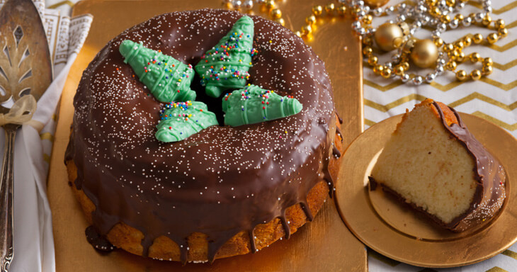 Item #: C315 - Christmas in Copenhagen Crown Cake