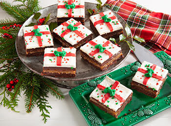 Christmas Present Brownies