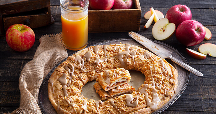 Item #: S129 - Cider Kringle