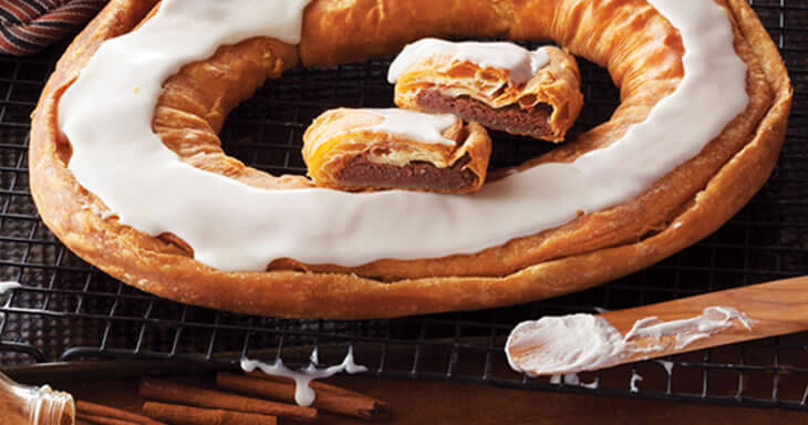 Item #: S021 - Cinnamon Roll Kringle