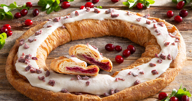 Item #: S014 - Cranberry Kringle