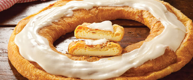 Cream Cheesecake Kringle