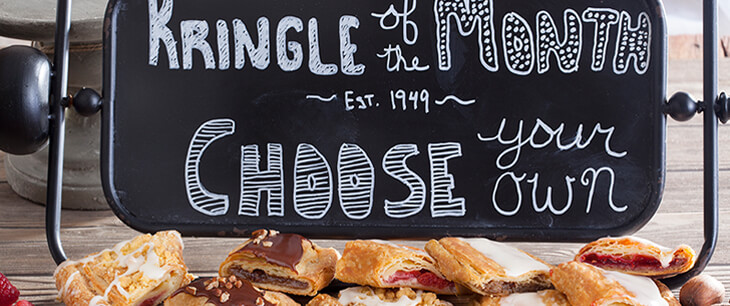 Choose Your Own Kringle For 6 Months