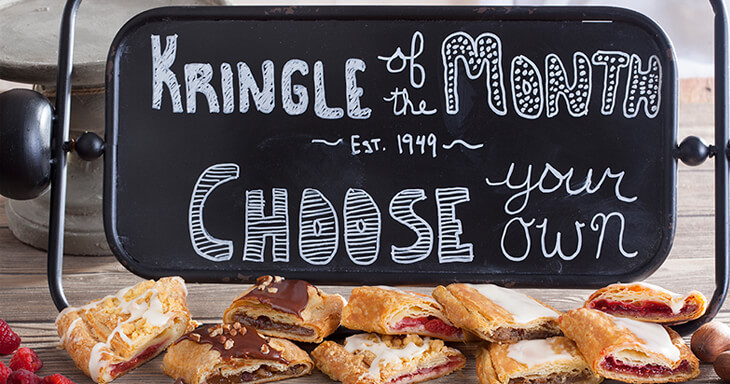 Item #: CK06 - Choose Your Own Kringle For 6 Months