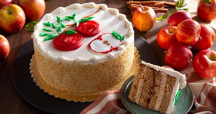 Item #: 494 - Danish Apple Layer Cake