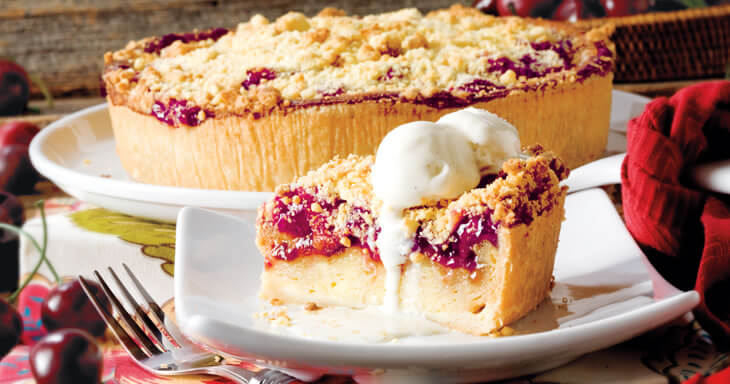 Item #: 469C - Danish Cherry Bread Pudding