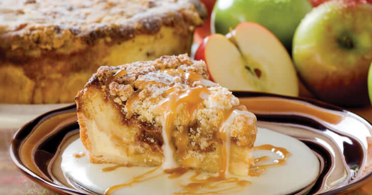 Item #: 469 - Danish Cinnamon Apple Bread Pudding