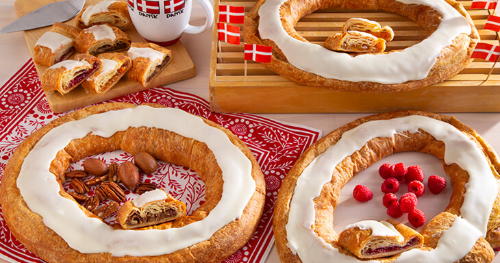 Item #: 745 - Danish Kringle Celebration Collection