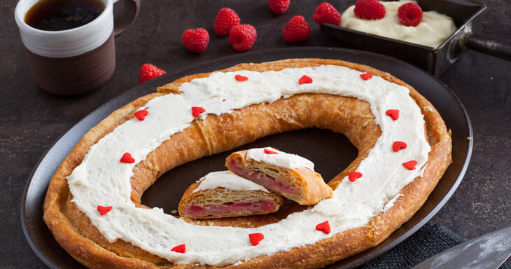 Item #: S005 - Danish Layer Kringle