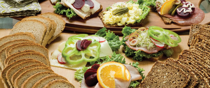 Danish Open Face Sandwich Breads